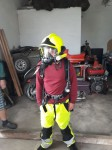 Dýchací přístroje Draeger, boty pro hasiče