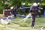 Hasiči z Výprachtic soutěží v Bystřeci 15.května 2015