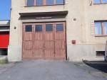 Nová vrata hasičárna Výprachtice