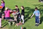 Pálení čarodějnic na školním hřišti 28.dubna 2018