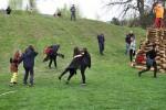 Pálení čarodějnic na školním hřišti 30.dubna 2015