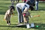 Pálení čarodějnic na školním hřišti 30.dubna 2016