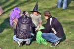 Pálení čarodějnic na školním hřišti 30.dubna 2017