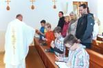 První sv.přijímání 28.května 2017