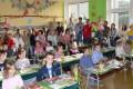 První třída nastupuje - začíná nový školní rok-2008-09