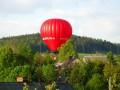 První vzlet balonu ve Výprachticích 3.5.2009