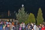 Rozsvícení vánočního stromu 5.12.2014