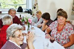 Setkání důchodců i z okolních obcí ve Výprachticích 17.září 2015