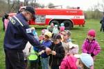 Ukázky hasičů pro mateřskou školku  24.dubna 2015