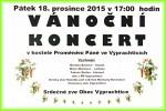 Vánoční koncert 18.prosince2015