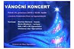 Vánoční koncert 20.prosince 2019