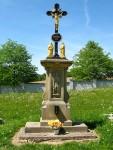 Obrázek: Kříž na hřbitově