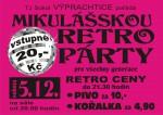 Obrázek: Mikulášská retro párty 5.12.2015