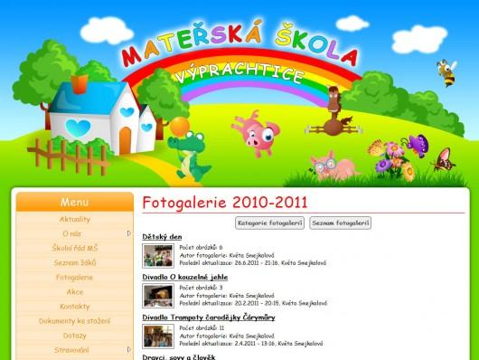 Obrázek: Mateřská škola Výprachtice 2011
