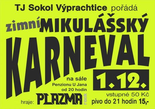 Obrázek: Zimní mikulášský karneval 2018 - 1.12.2018