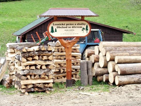 Pavel Košťál - Lesnické práce a služby, obchod se dřevem